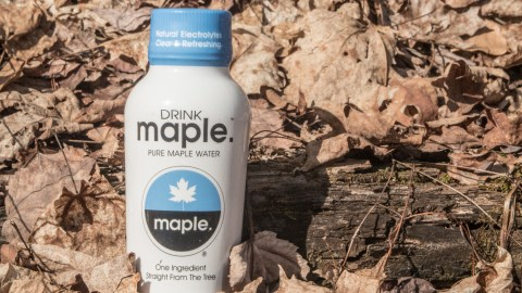 From the tree to the bottle, DRINKmaple could be the next big alternative water. (Photos: Kristen Kellogg.)