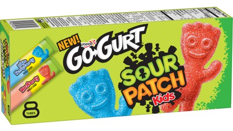 Sour Patch Kids-Flavored Yogurt