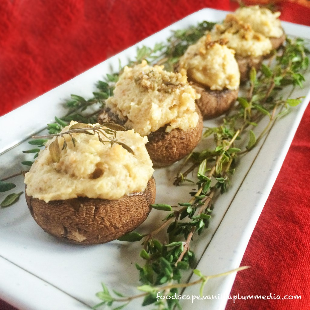 vegan-cheese-stuffed-crimini-mushrooms