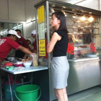 Pretty good wantan mee@Restaurant BBQ, Chow Kit Road