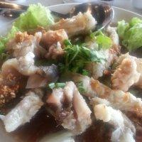 Monster grouper meal@sun wong kee,  bandar puteri