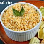 Peanut Rice Recipe / Verkadalai Sadam