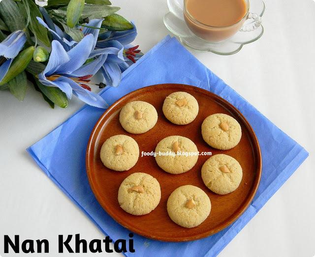 Nankhatai - Eggless Indian Cookies / Cookies Recipe