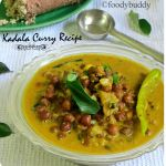 KERALA KADALA CURRY RECIPE FOR PUTTU