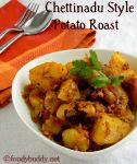 Urulai Chettinadu Recipe / Potato Roast (South Indian)