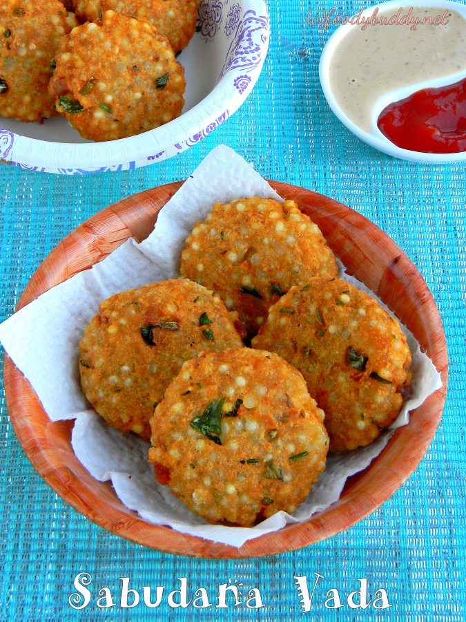 Sabudana Aloo Vada Recipe / Javvarisi Vadai / Sago vada
