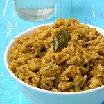Gongura Rice Recipe / Pulicha Keerai Sadham