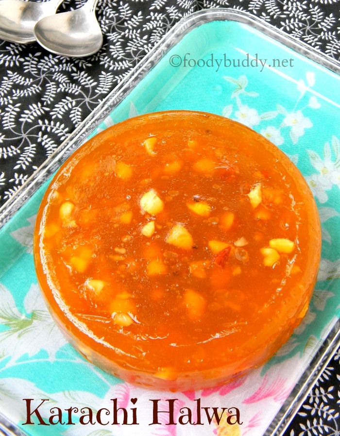 Bombay Halwa Recipe / Karachi Halwa Recipe