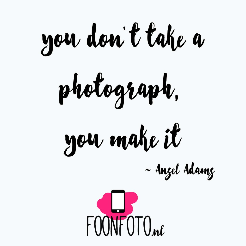 beste camera - quote-ansel-adams