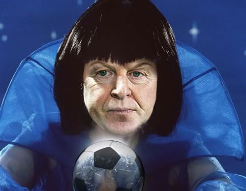 Mystic Megson makes his match score prediction