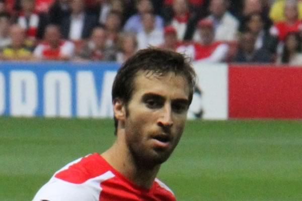 There were all sorts of jokes as Mathieu Flamini starts again for Arsenal against Bournemouth and is almost sent off