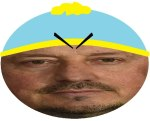 Rafael Benítez's South Park socks at the Tyne-Wear derby inspired this hasty photoshop job