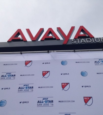 MLS Deputy Commisioner Mark Abbott joined Quakes president Dave Kaval, San Jose major and more to announce the game