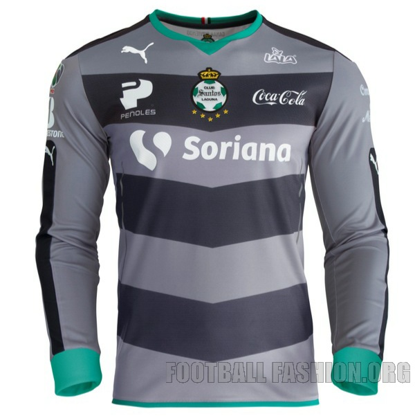 Santos Laguna  Puma Home And Away Jerseys Football Fashion