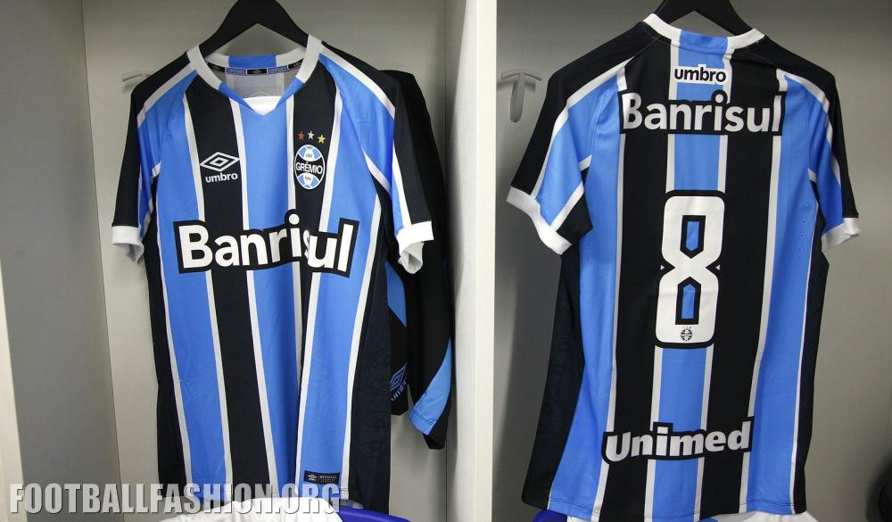 Download Grêmio 2016 Umbro Home and Away Kits | FOOTBALL FASHION.ORG