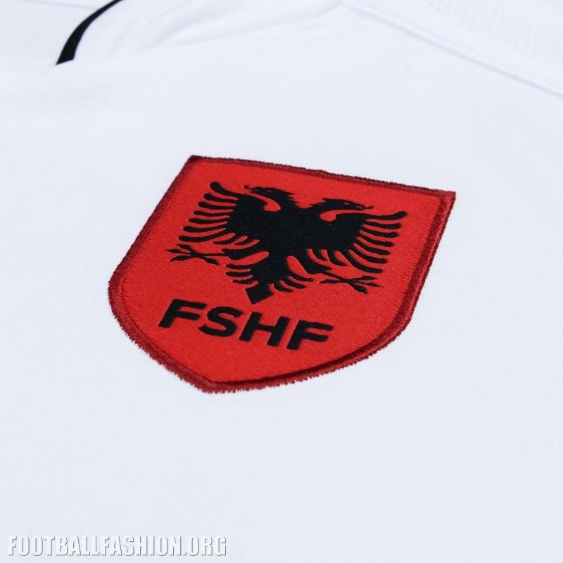 Albania euro 2016 macron home and away kits launched football