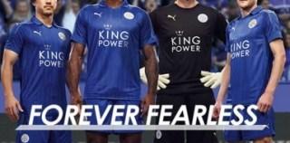 Leicester City FC 2016/17 PUMA Home Kit