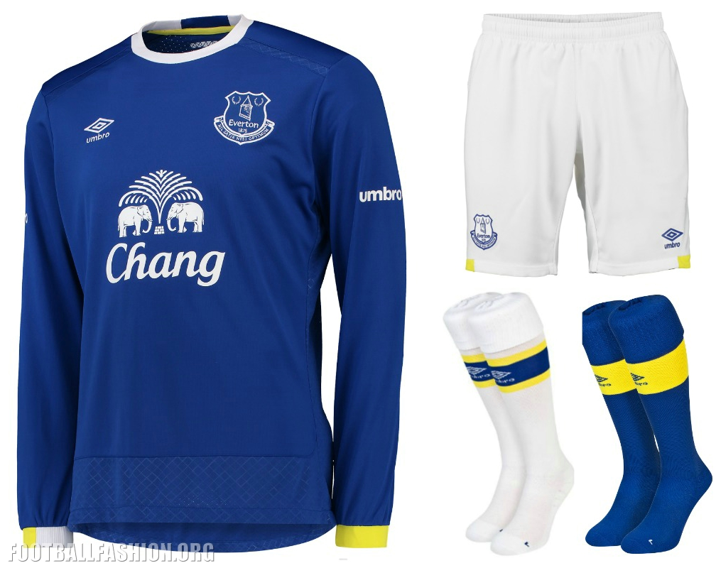 Everton Fc   Umbro Home Football Kit Soccer Jersey Shirt