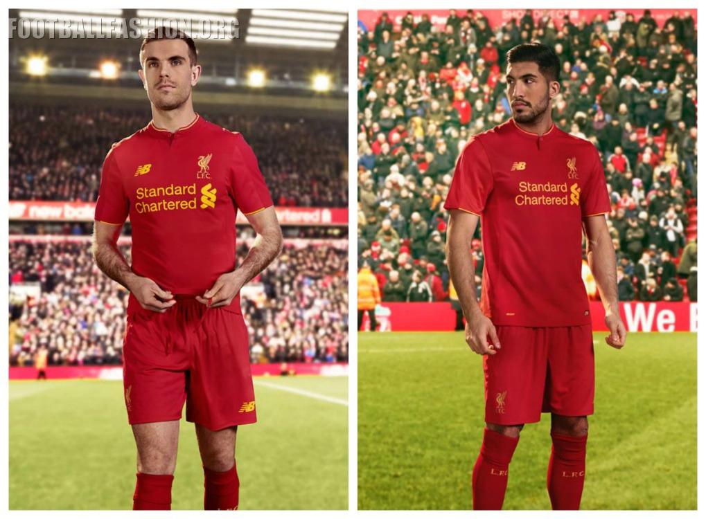 Liverpool Fc   New Balance Home Football Kit Soccer Jersey