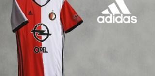 Feyenoord Rotterdam 2016/17 adidas Home Kit