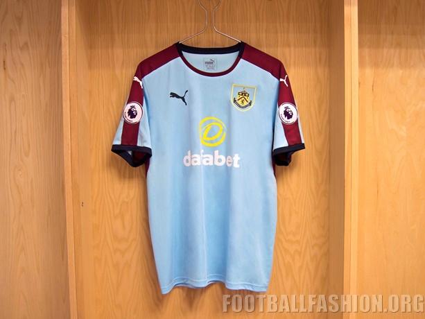Burnley Fc   Puma Away Football Kit Soccer Jersey Shirt