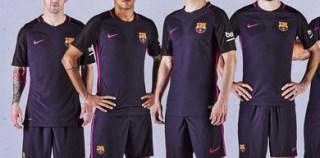 FC Barcelona 2016/17 Nike Away Kit