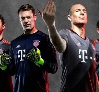 FC Bayern München 2016/17 adidas Away Kit
