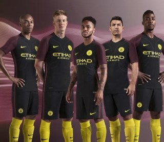 Manchester City 2016/17 Nike Away Kit