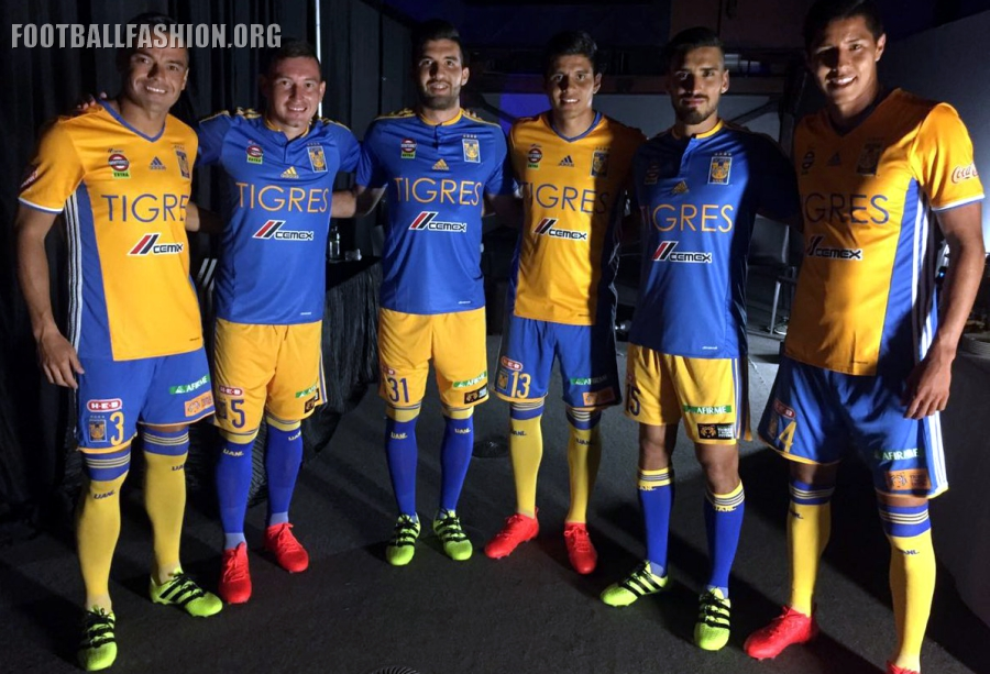 Uanl Adidas Home And Away Jerseys Football Fashion Org