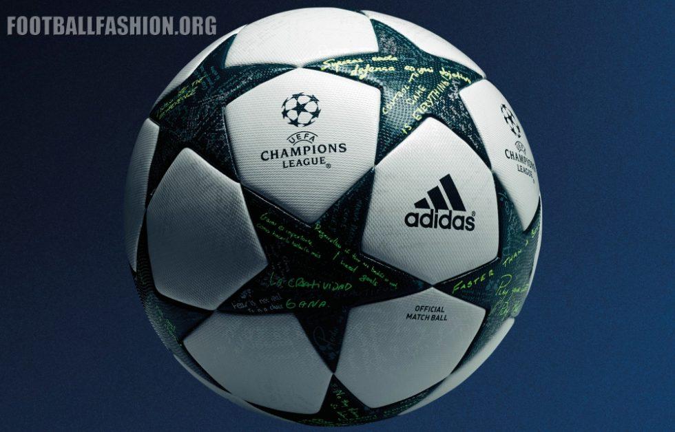 adidas 2016 17 uefa champions league official match ball football fashion org. Black Bedroom Furniture Sets. Home Design Ideas