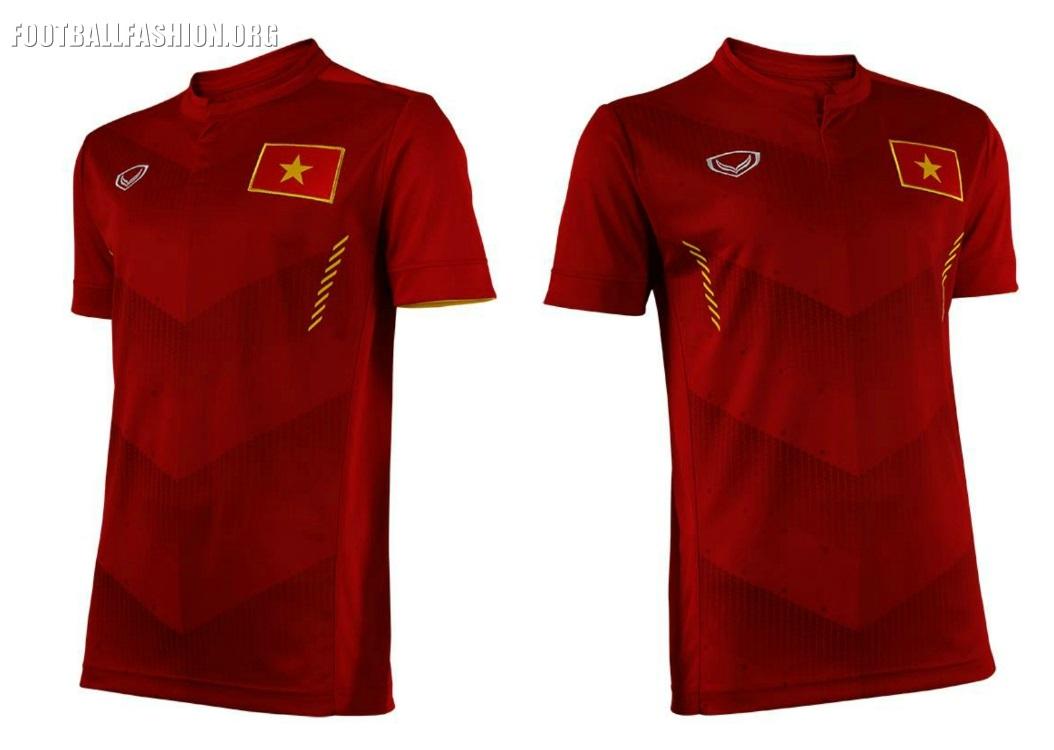 Vietnam  Grand Sport Home And Away Kits Football Fashion Org