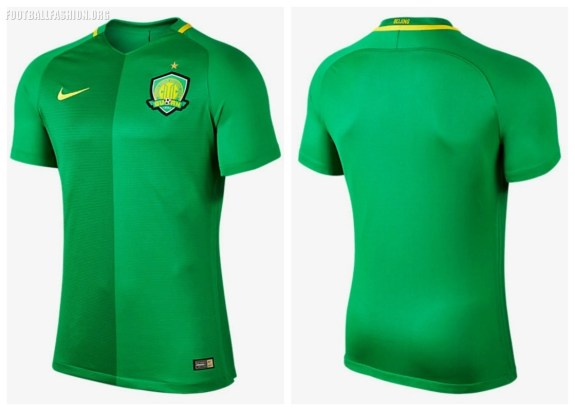 The Beijing Guoan  Home Kit Uses Nikes Vapor With Aeroswift
