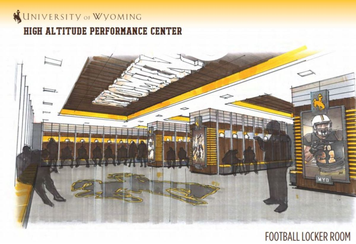 Wyoming has released plans for the premier facility in - Football conference south league table ...