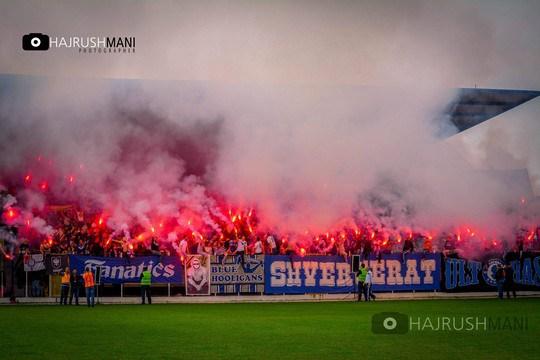 Le derby Vardar-Shkupi