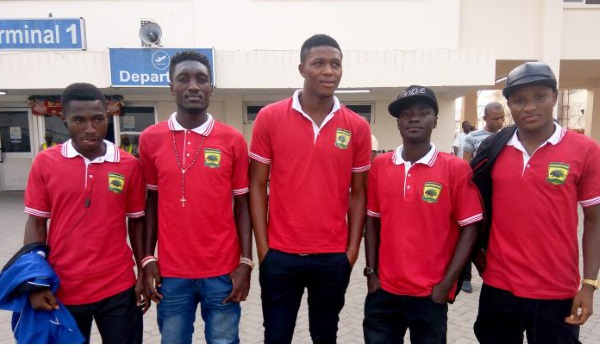 The five Kotoko U-17 players in squad to Libya