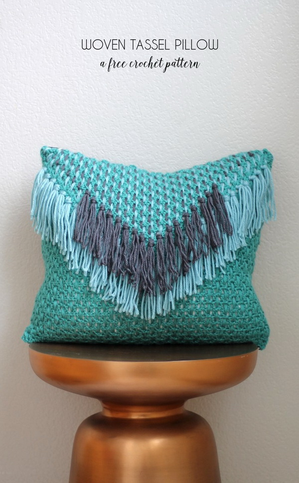 Free Crochet Pillow Patterns For Beginners : Easy Crochet Projects for Beginners - For Creative Juice