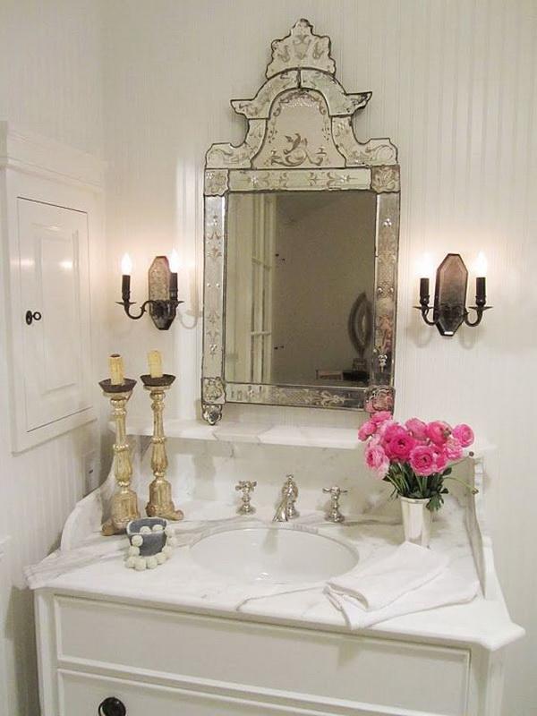 Shabby Chic Bathroom Design Ideas ~ Awesome shabby chic bathroom ideas for creative juice