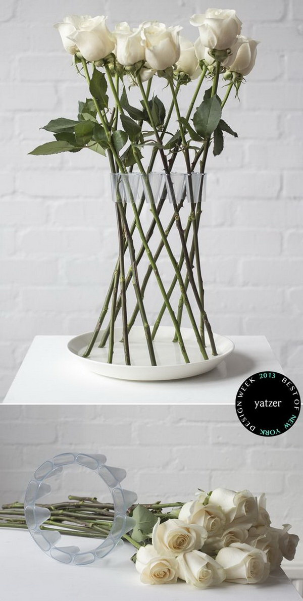 how to keep your flowers alive in a vase