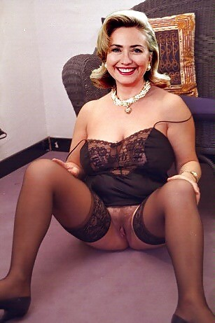 Porn hillary clinton fake nude