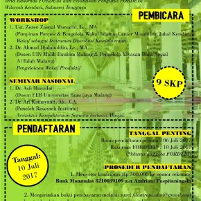 Workshop dan Seminar Nasional