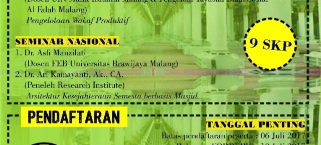 Workshop dan Seminar Nasional