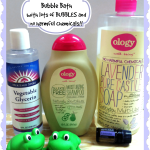 DIY Bubble Bath for Kids with NO Harmful Chemicals Added…the Ology Way!