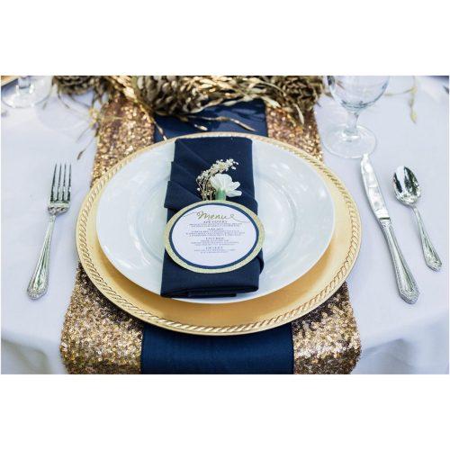 Medium Crop Of Navy Blue And Gold