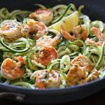 shrimp scampi zucchini noodle