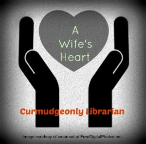 If a wife is refusing because of her heart, then, what is a husband to do? How can he help her heart heal? Read more at https://curmudgeonlylibrarian.wordpress.com/2015/07/08/a-wifes-heart/