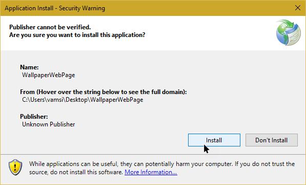 Cara Mengatur Halaman Web sebagai Wallpaper di Windows 10