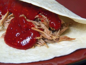 pulled duck