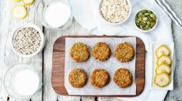 Pumpkin Oatmeal Cookies Recipe Vegan Paleo Healthy Diet Snacks