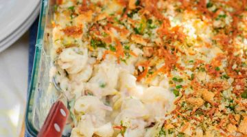 Tuna Pasta Bake Casserole Recipe Perfect for Family Dinner