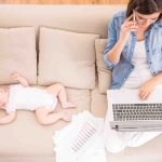 10 Tips for Work at Home Moms with Little Ones